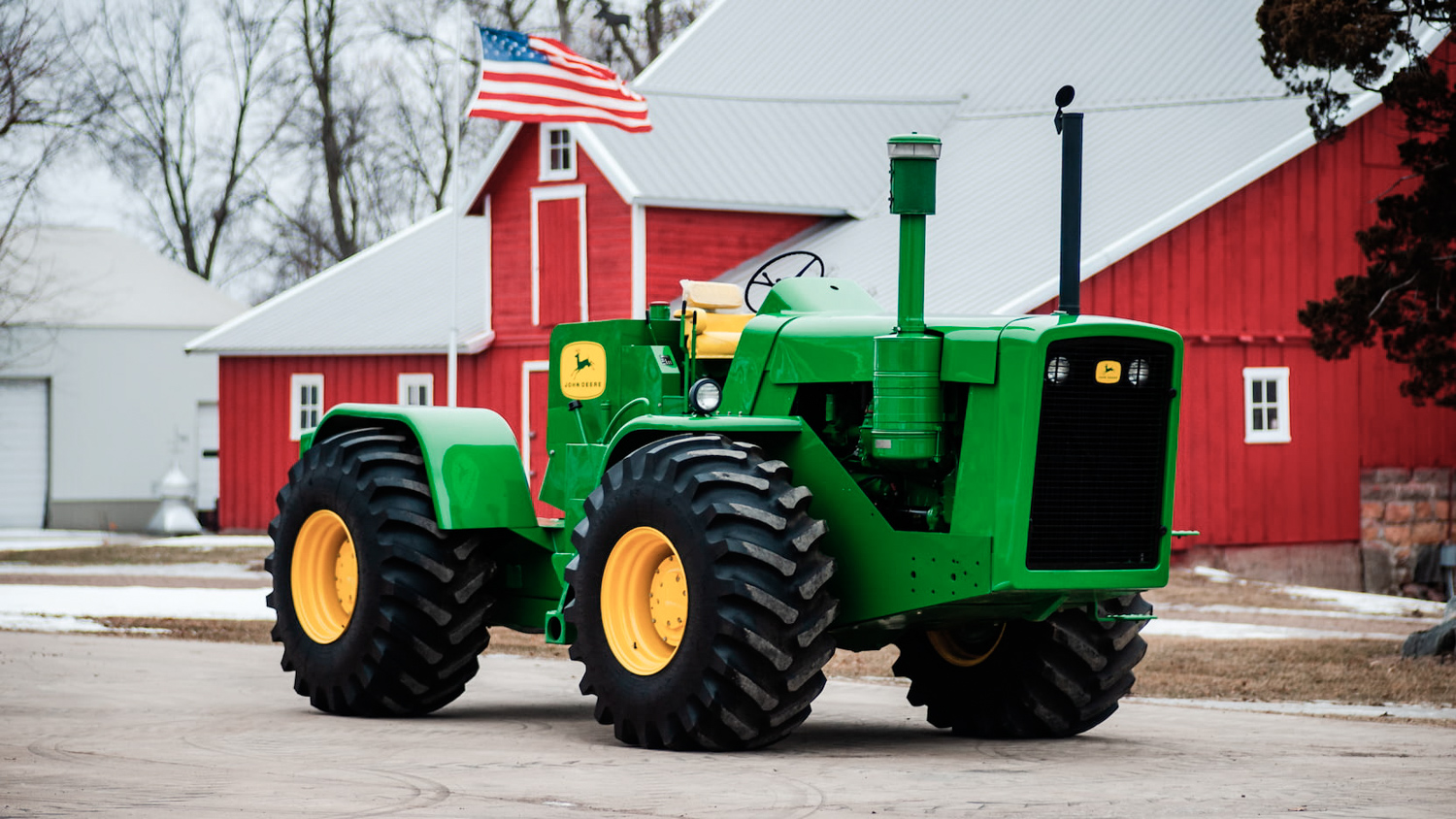 Classic tractors are getting serious money at auction thumbnail