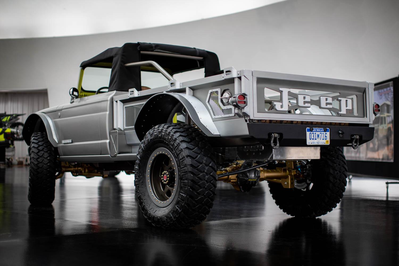 Jeep 715 rear