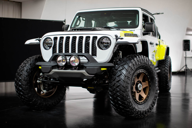 Jeep Flatbill front 3/4