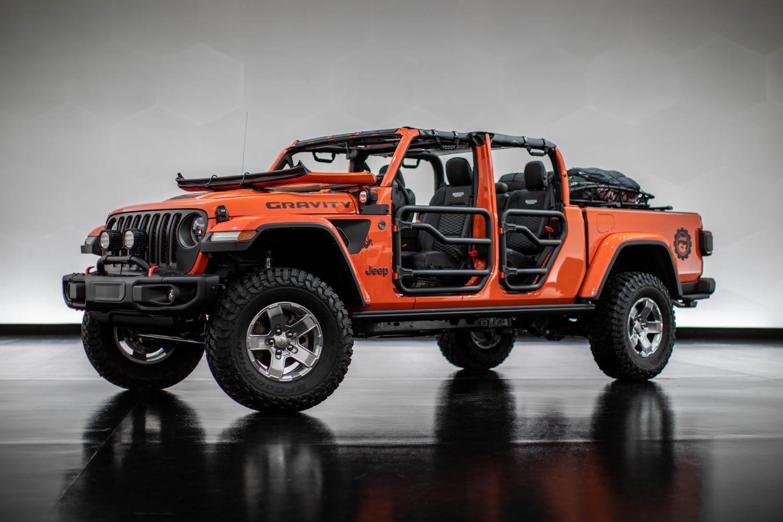 Jeep Gravity side profile