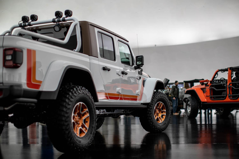 Jeep Scrambler rear