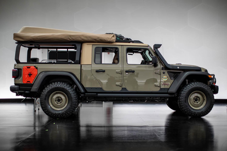 Jeep Wayout side profile