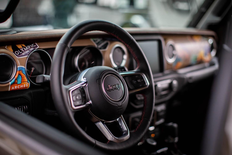 Jeep Wayout wheel detail