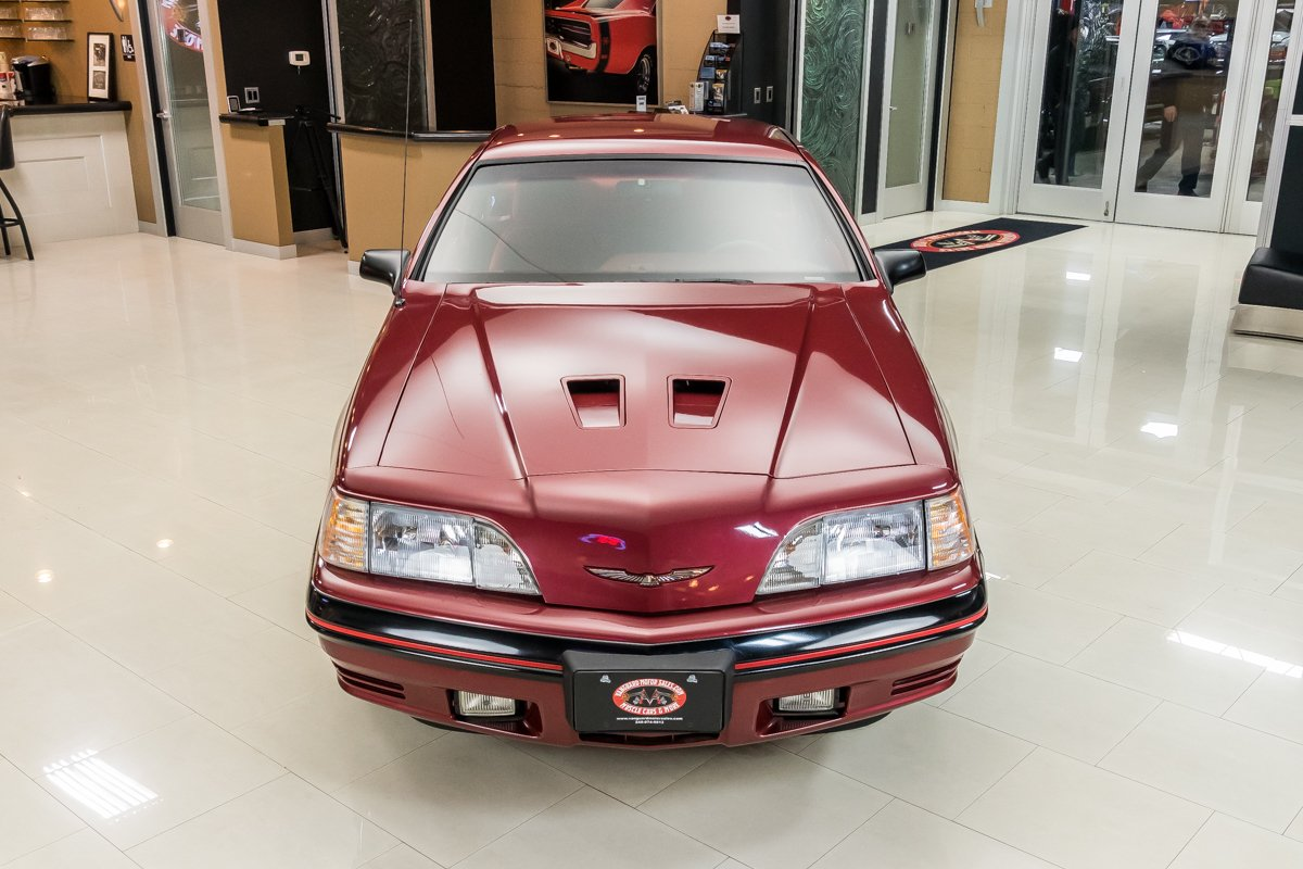 1987 Ford Thunderbird Turbo Coupe front high