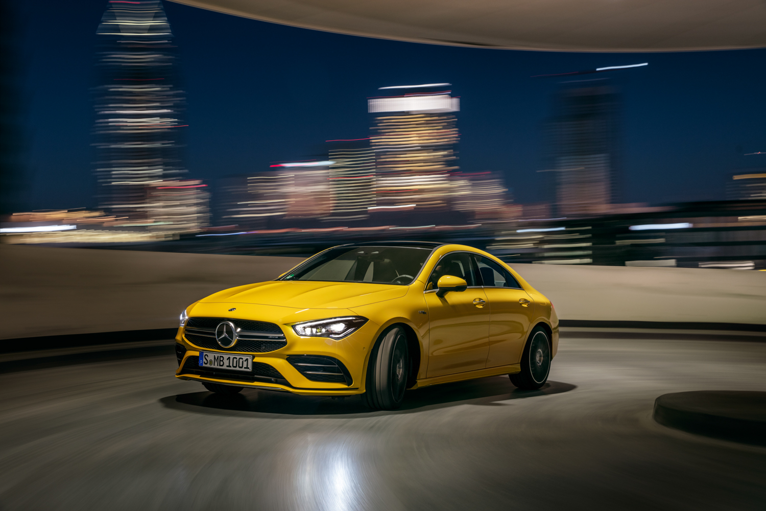 Mercedes-AMG CLA 35 is like the A-Class, but swoopier thumbnail