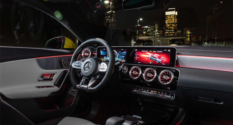 2020 Mercedes-AMG CLA 35 interior driver