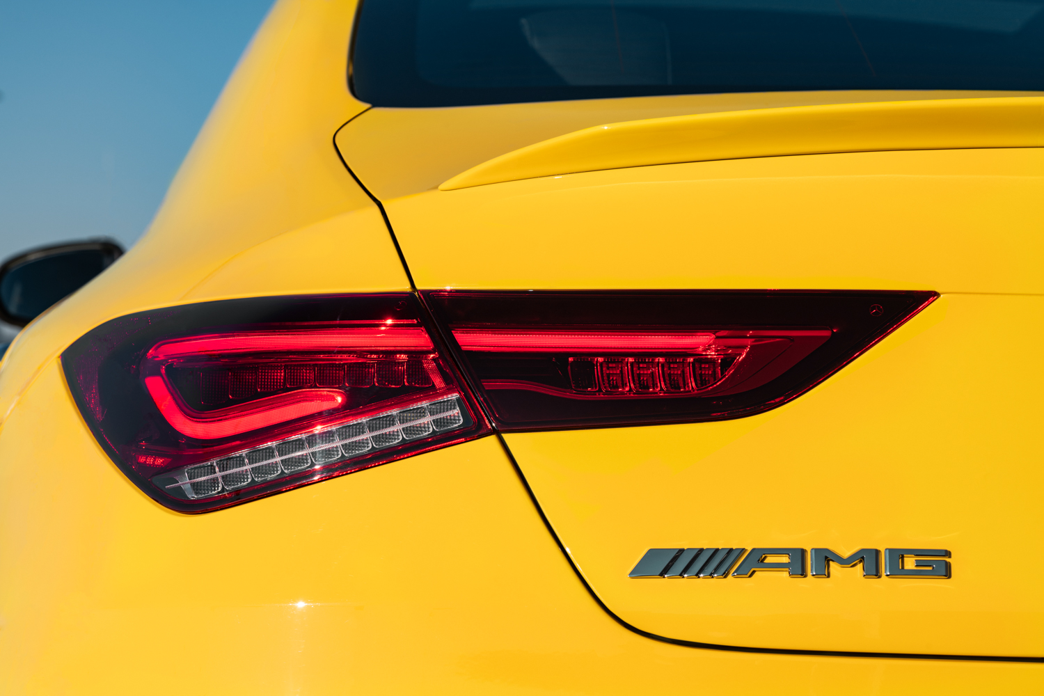 2020 Mercedes-AMG CLA 35 rear taillight