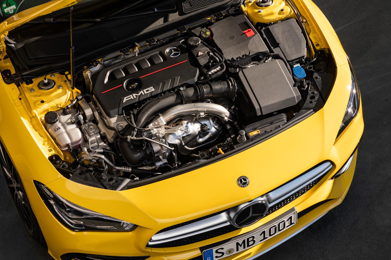 2020 Mercedes-AMG CLA 35 engine
