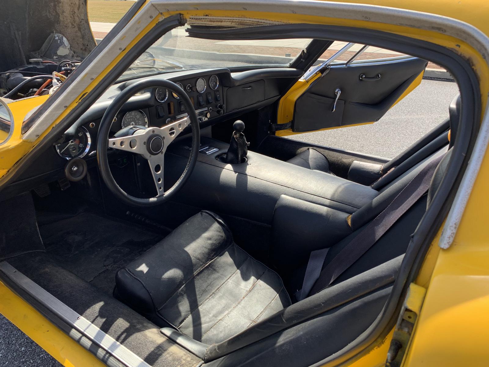 1969 Marcos GT interior