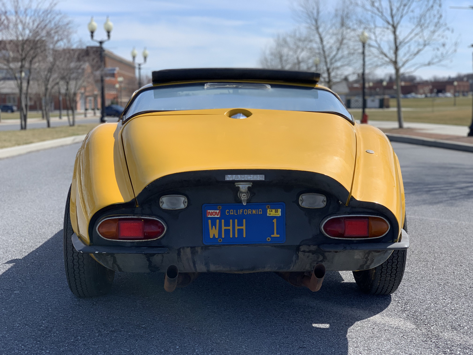 1969 Marcos GT rear