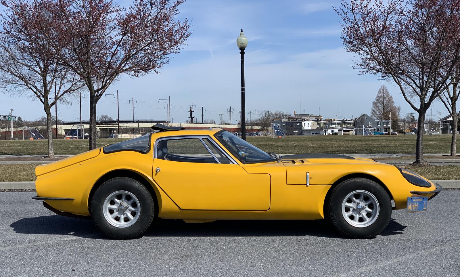 1969 Marcos 3 Litre GT Project side profile
