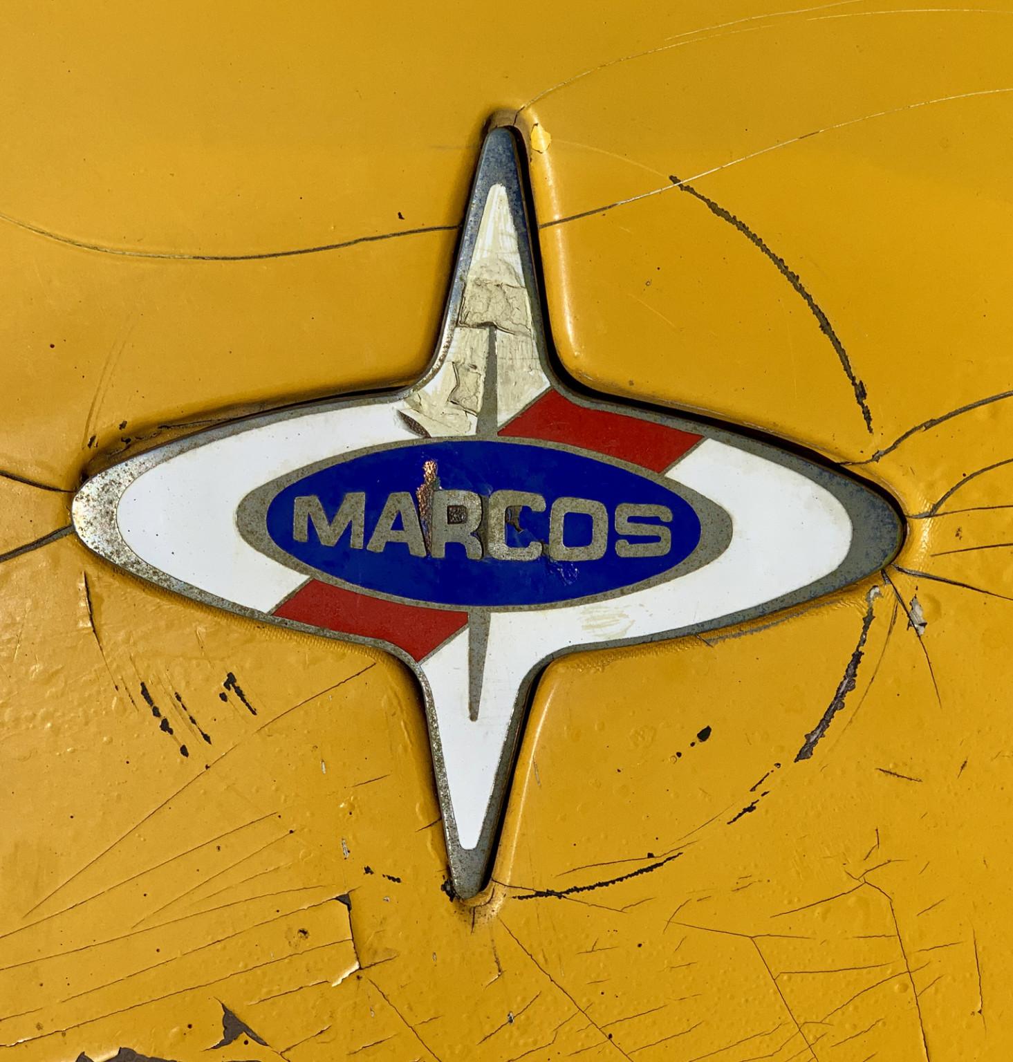 1969 Marcos badge