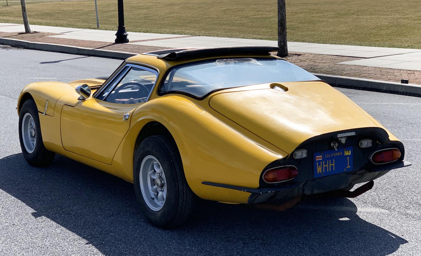 1969 Marcos GT Project rear 3/4