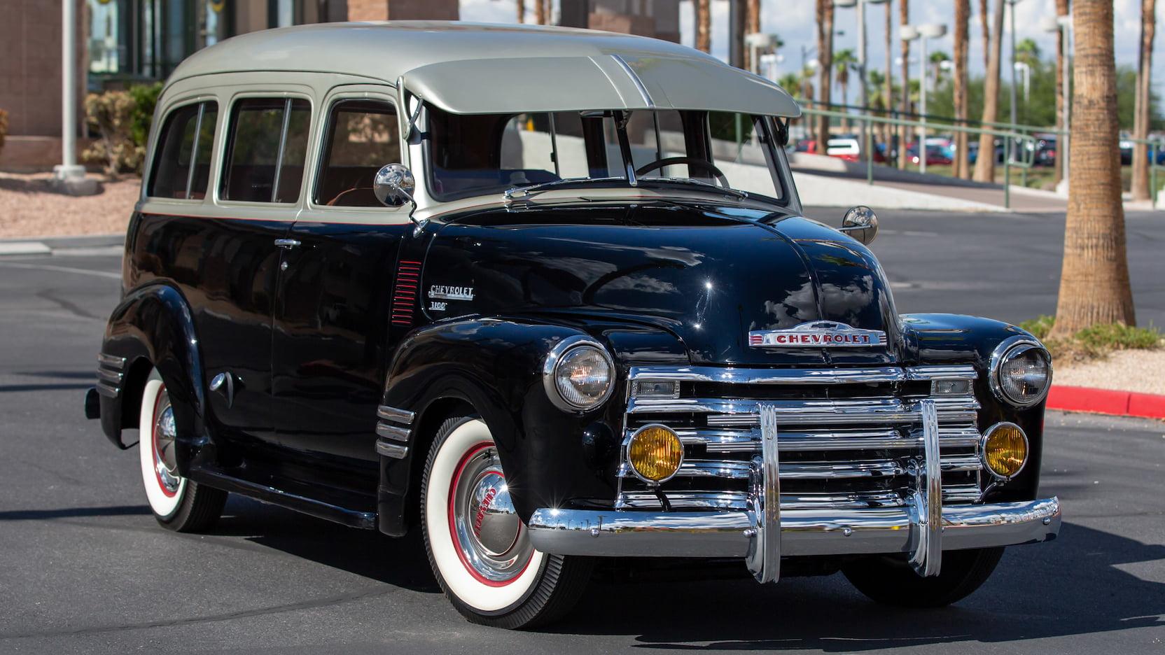 1948 Chevrolet Series 3100 Suburban