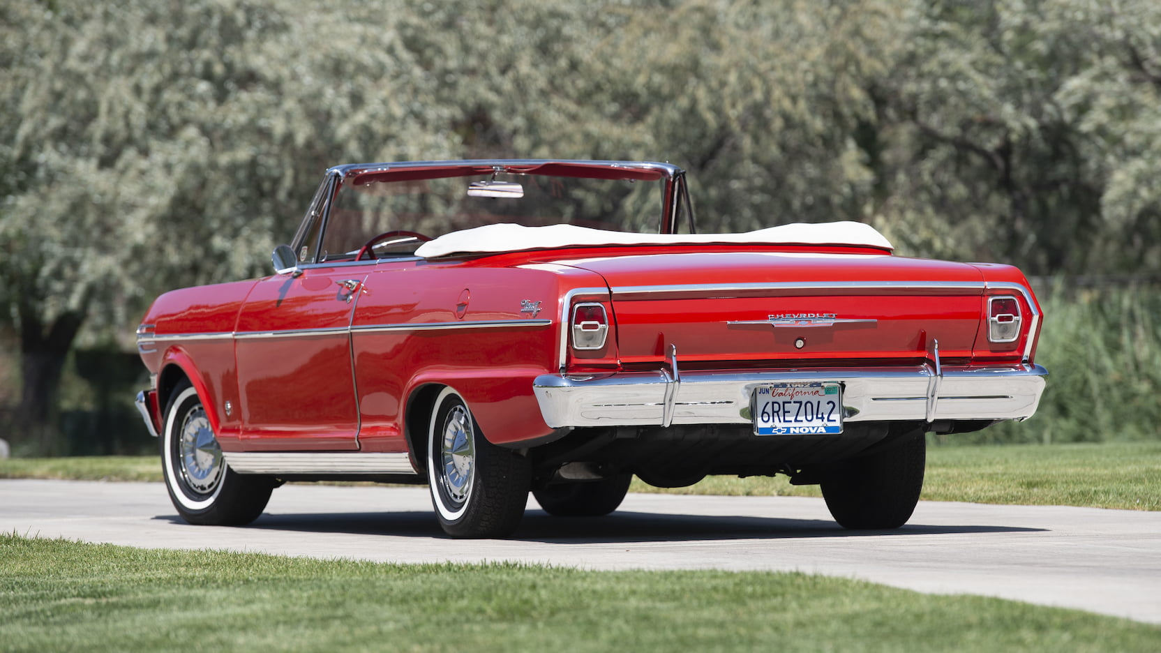 1962 Chevrolet Chevy II Nova 400 3/4 rear