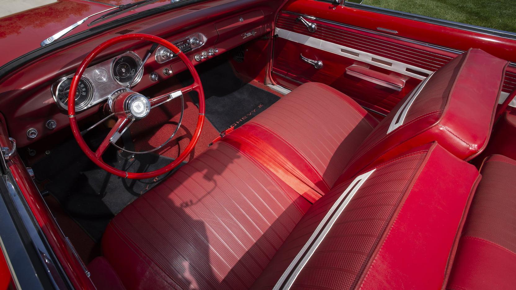 1962 Chevrolet Chevy II Nova 400 interior