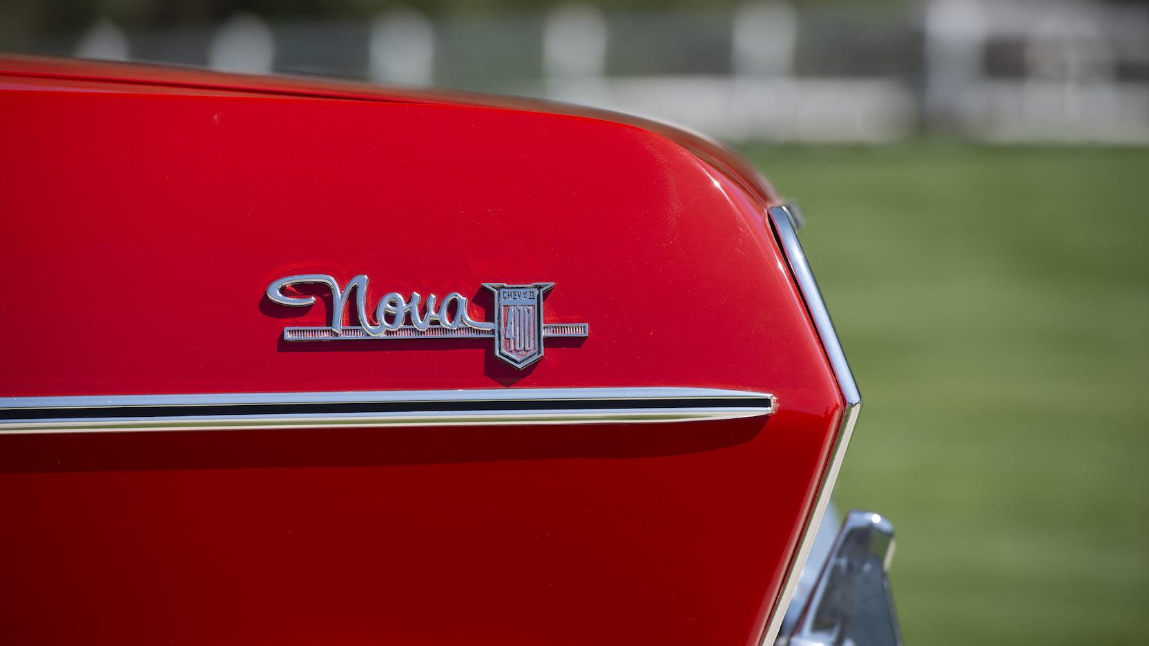 1962 Chevrolet Chevy II Nova 400 badge