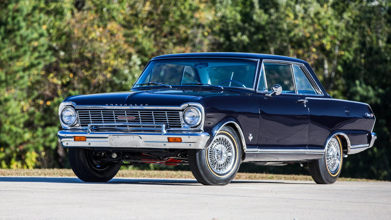 1965 Chevrolet Nova SS 3/4 front