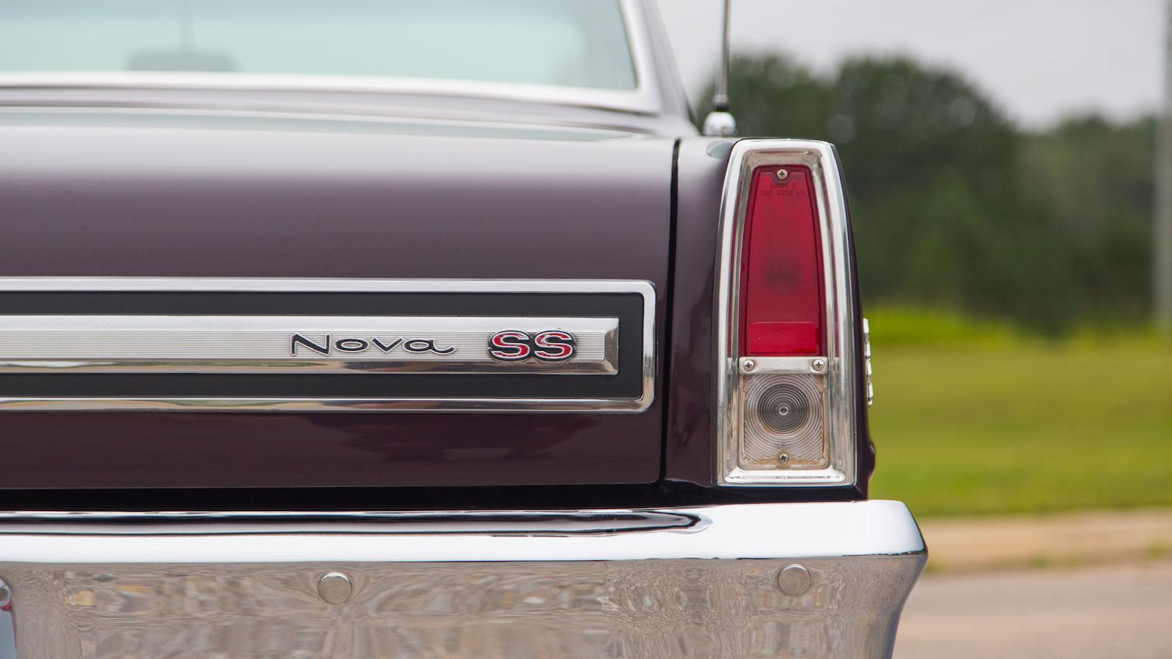 1967 Chevrolet Nova SS trunk badge