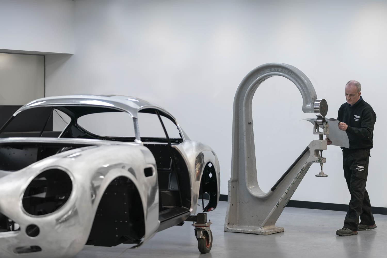 2019 Aston Martin DB4 GT Zagato metal work