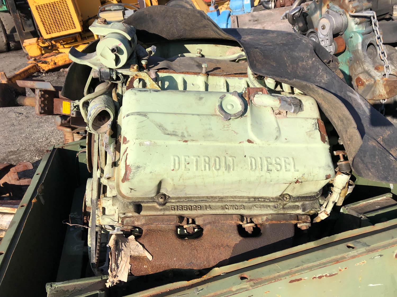Detroit Diesel smaller 6-71