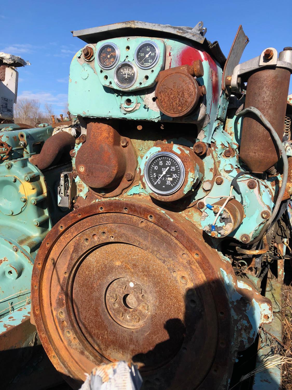 Old engine gauges