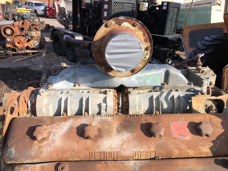 Detroit Diesel engine headers