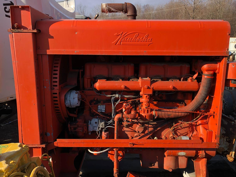 Waukesha diesel engine