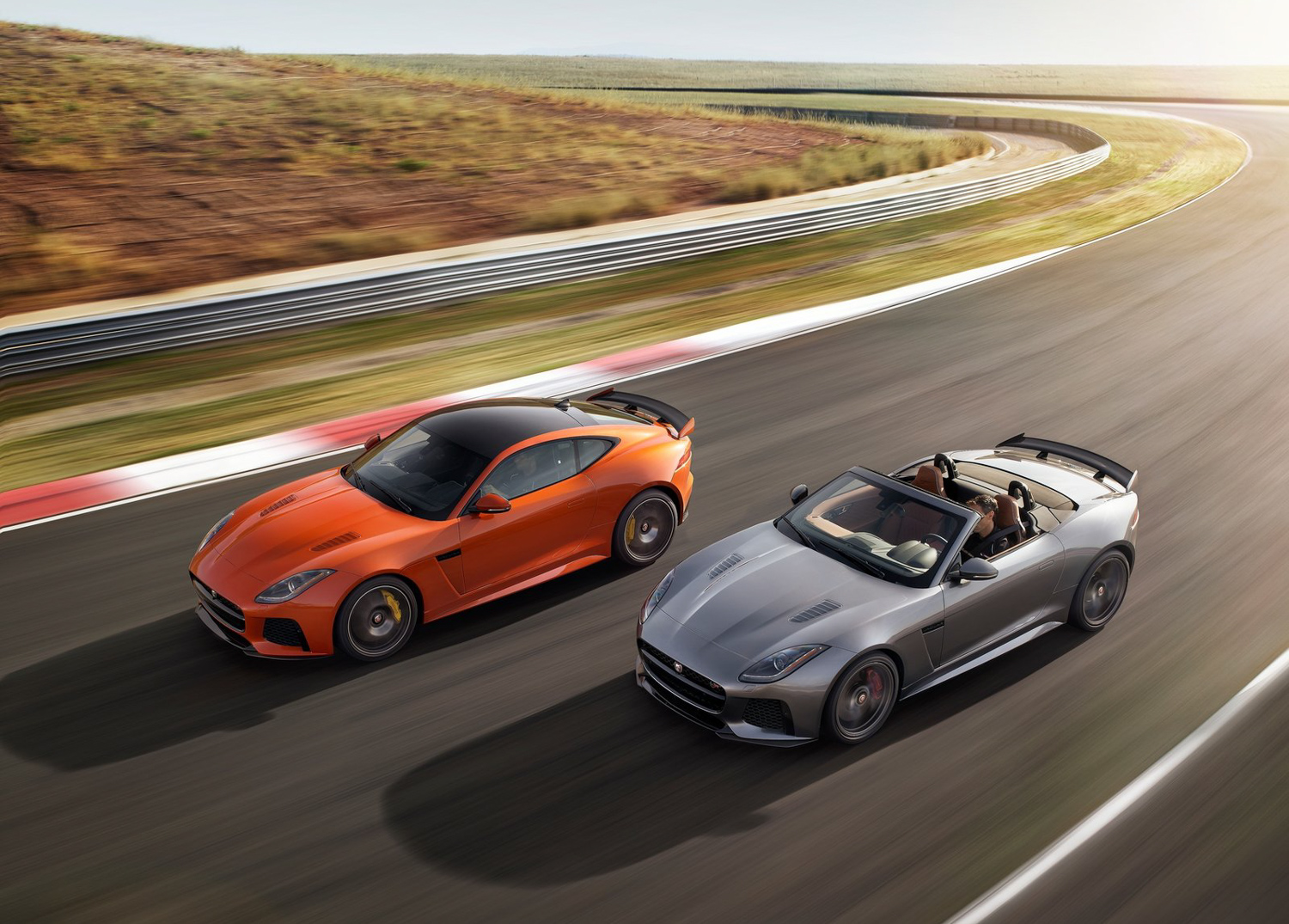 2019 Jaguar F-Type SVR 3/4 high view