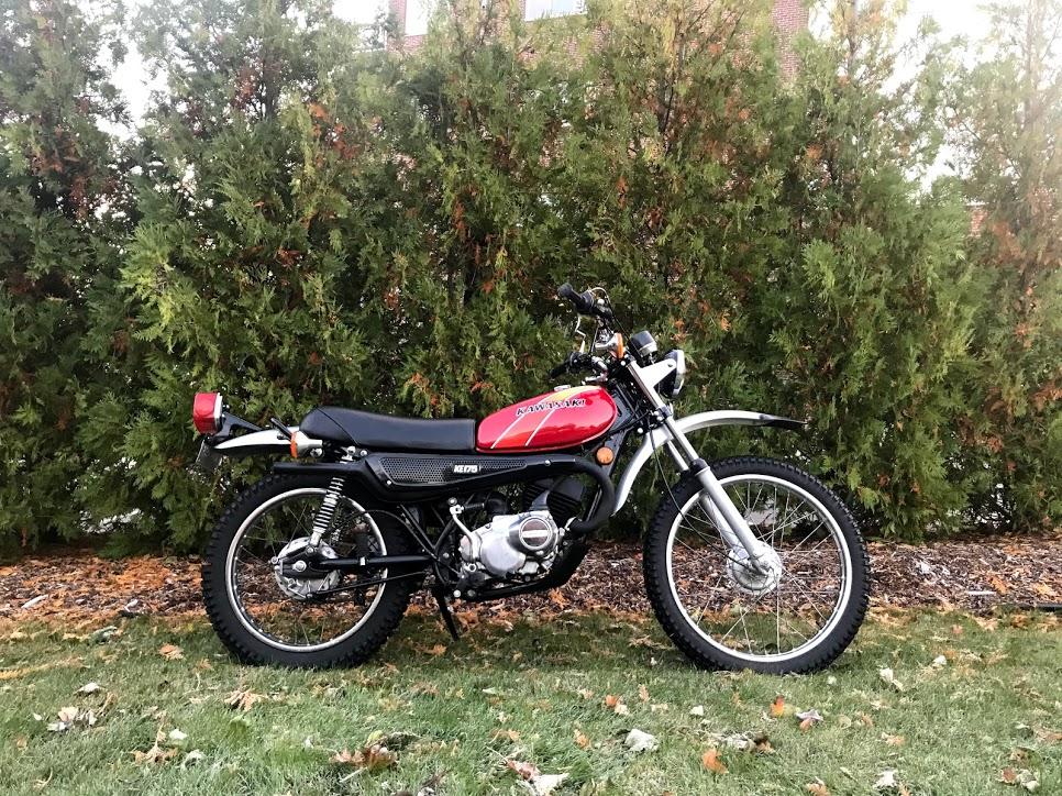 Kawasaki KE175 profile