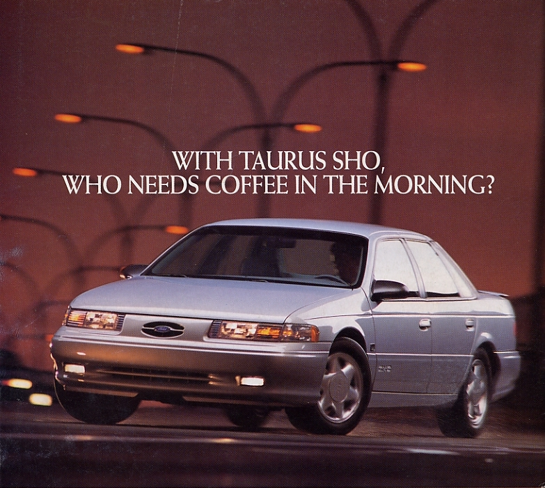 1994 Ford Taurus SHO advertisement