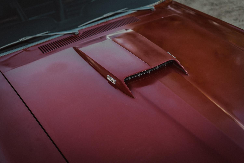 1969 Ford Mustang Mach 1 hood scoop