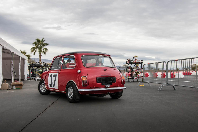 Mini Cooper Rear 3/4