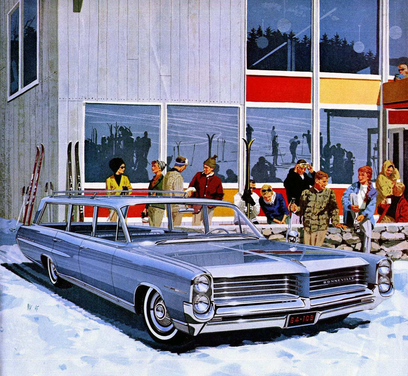 1964 Bonneville Safari - Ski New England