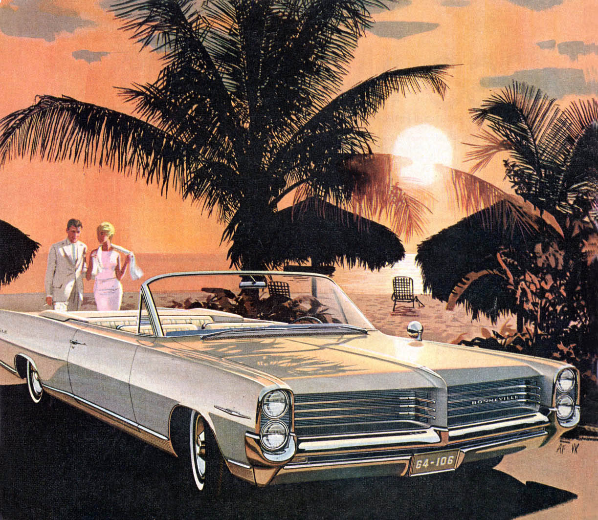 1964 Bonneville - Barbados Sunset