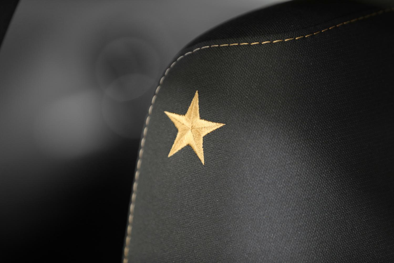 Stars & Stripes Edition bronze star interior