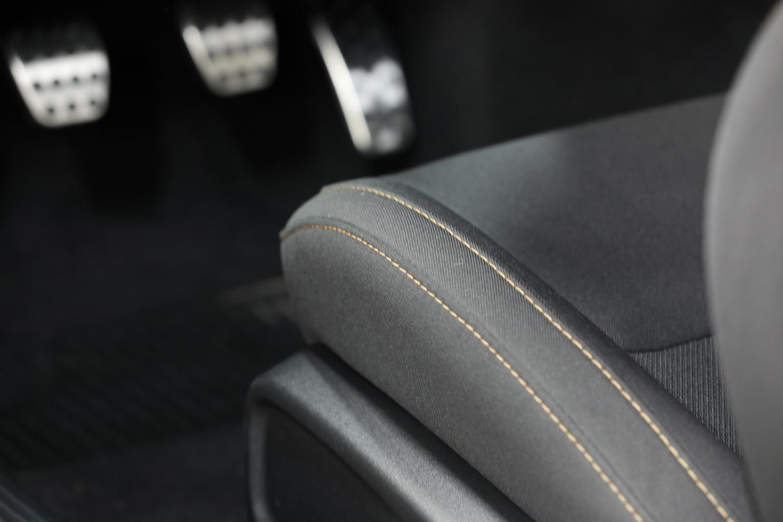 Stars & Stripes Edition seat stitching