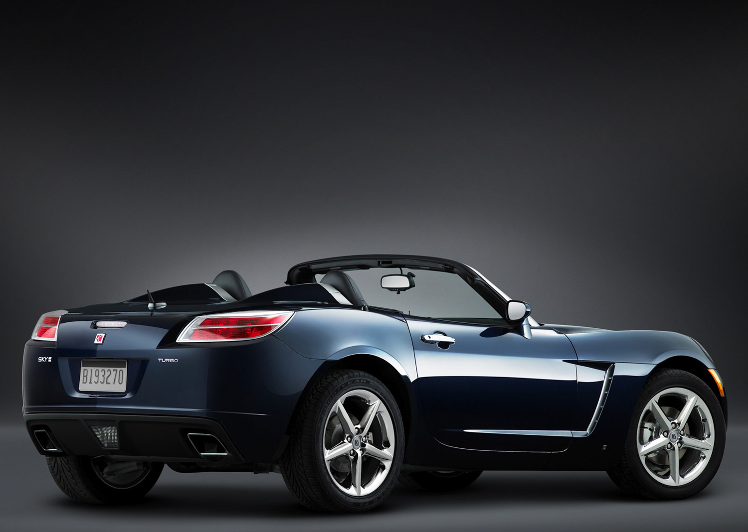 2007 Saturn Sky Red Line 3/4 rear