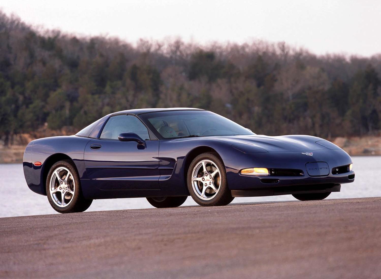 2002 Chevrolet Corvette pop up headlights