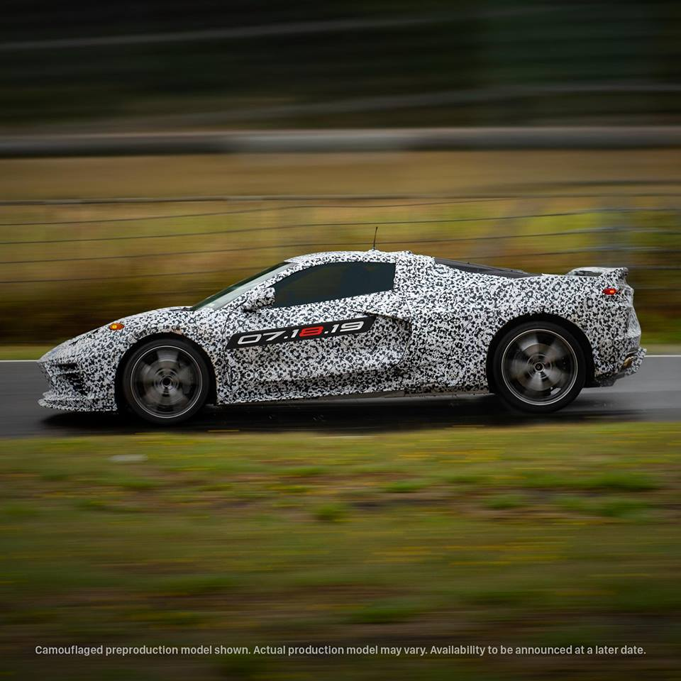 Mid-engine Corvette C8 launch date confirmed for July 18 thumbnail