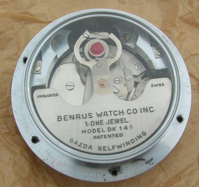 benrus clock