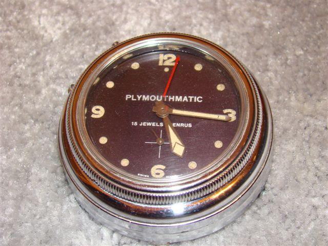 plymouth clock