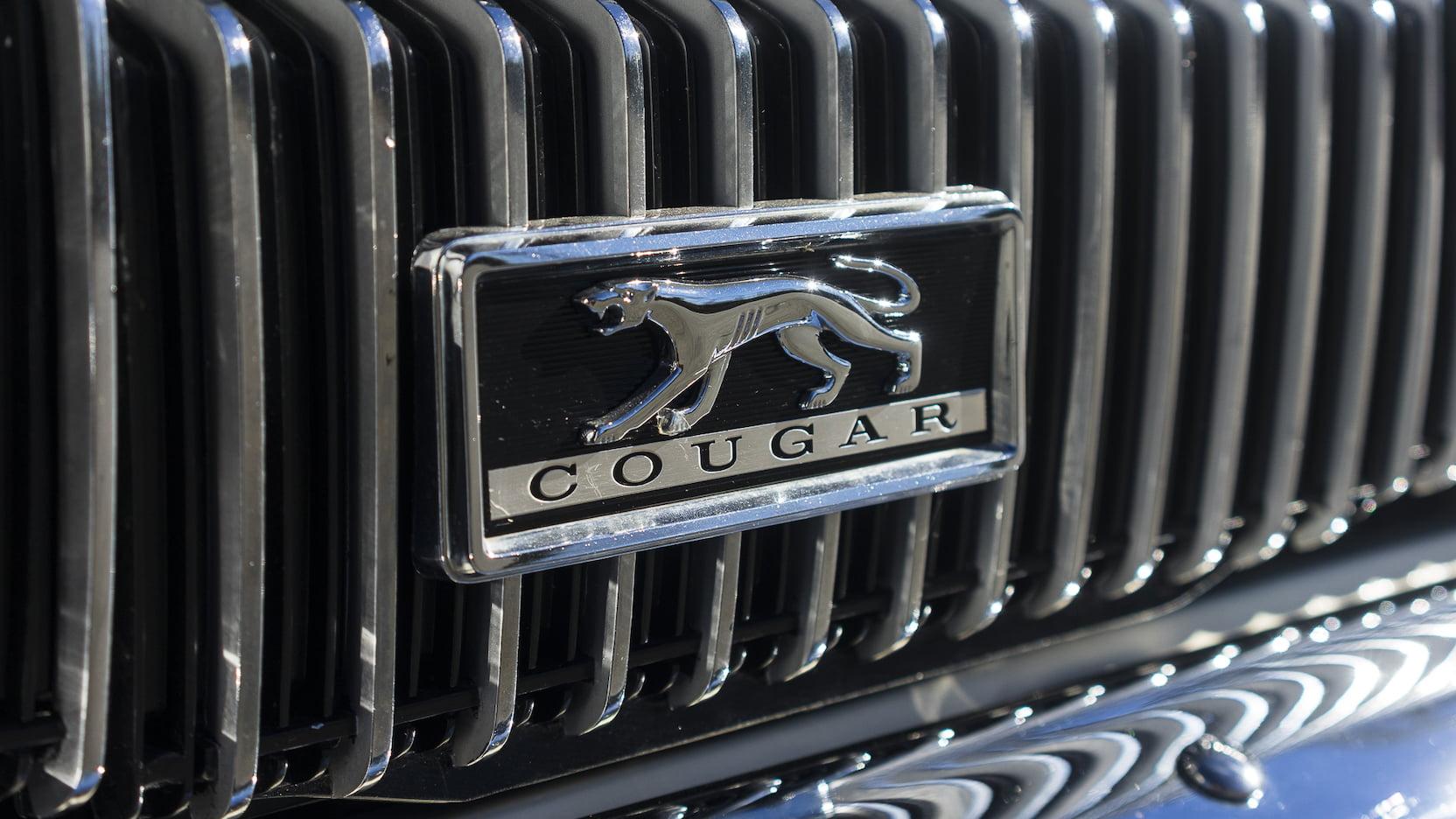 1967 Mercury Cougar grille