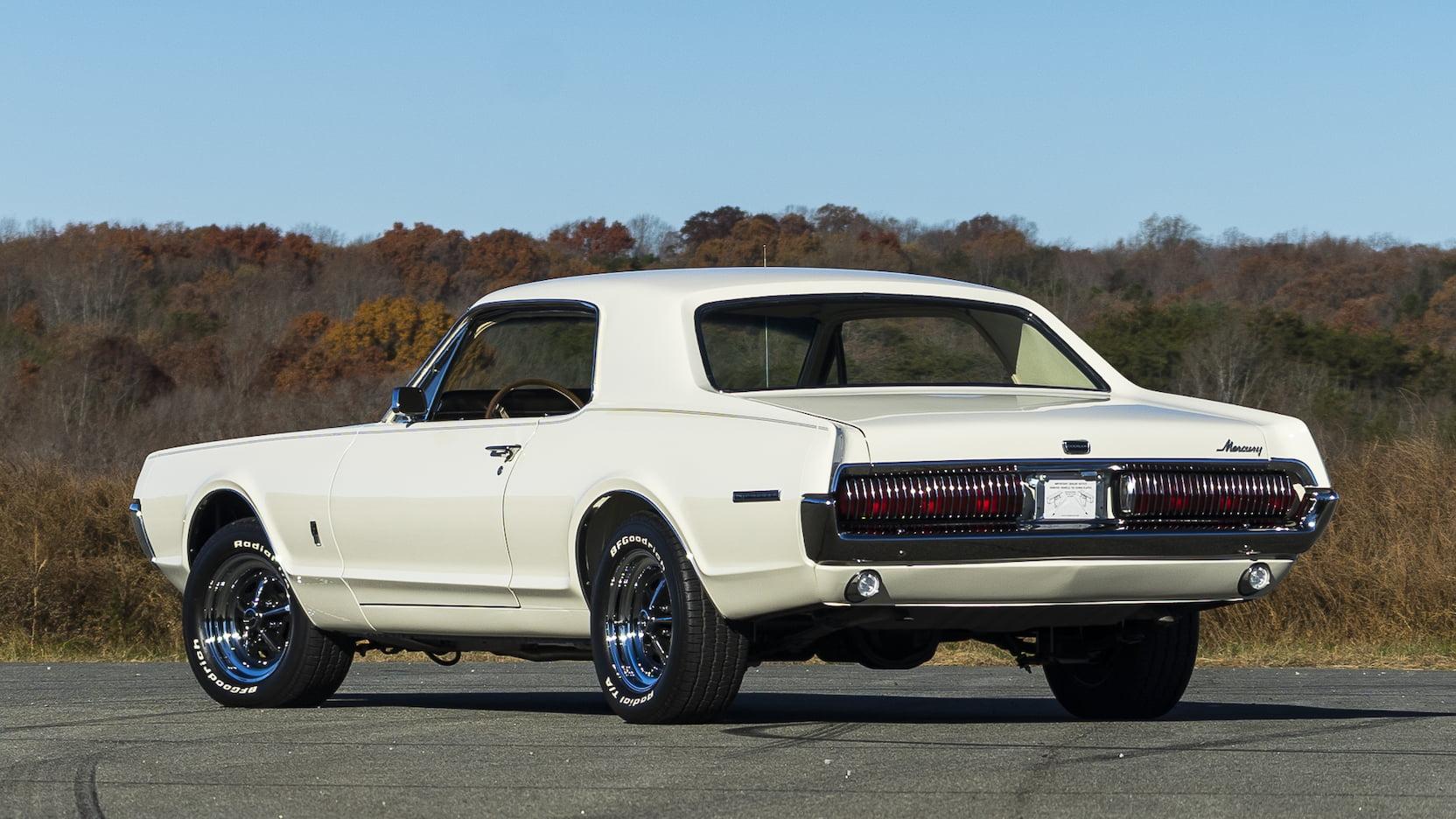 1967 Mercury Cougar 3/4 rear