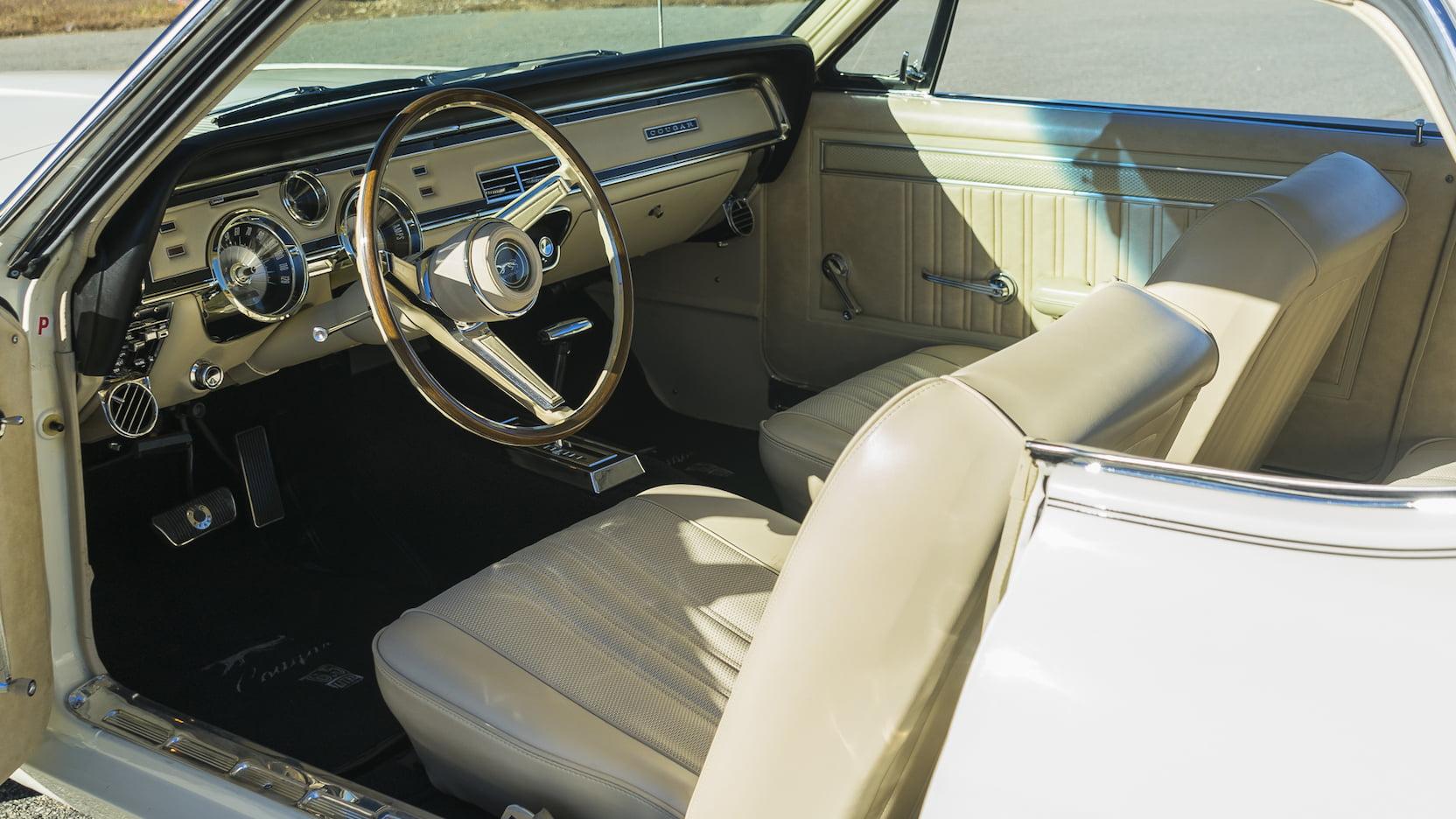 1967 Mercury Cougar interior