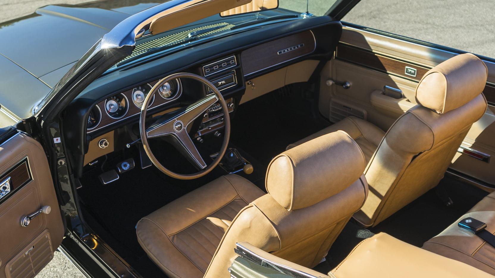 1969 Mercury Cougar interior