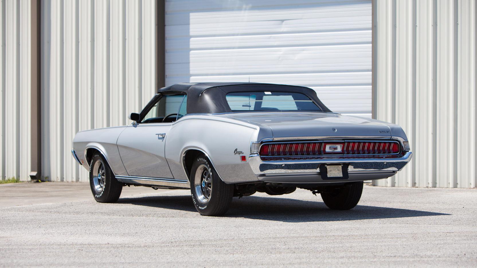 1970 Mercury Cougar XR-7 3/4 rear