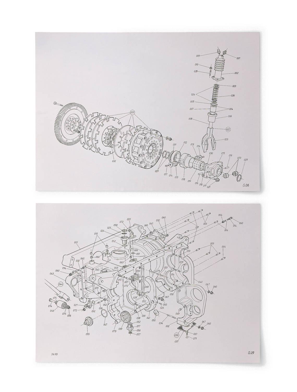 McLaren F1 parts diagram