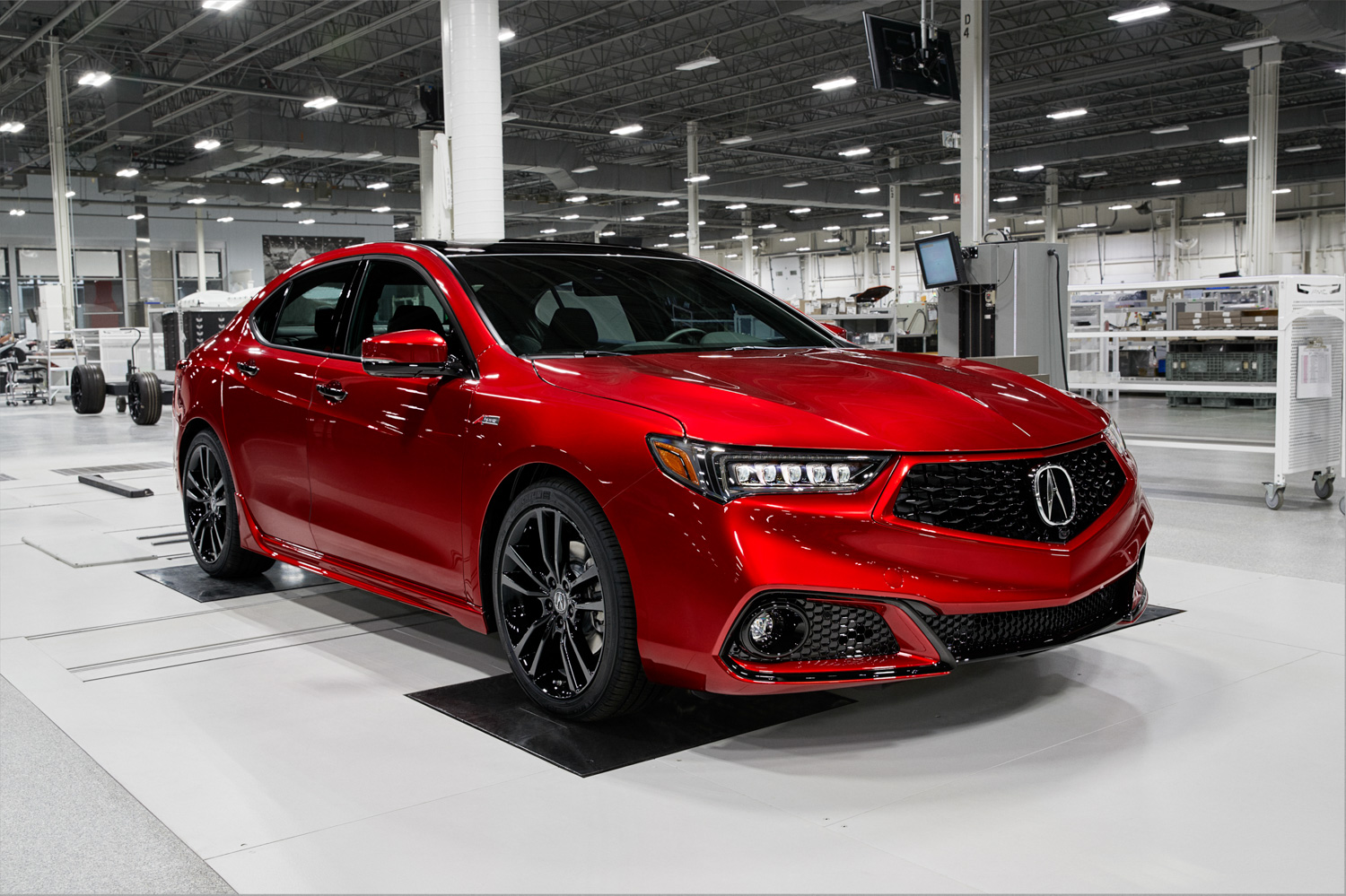 2020 Acura TLX PMC Edition 3/4 front