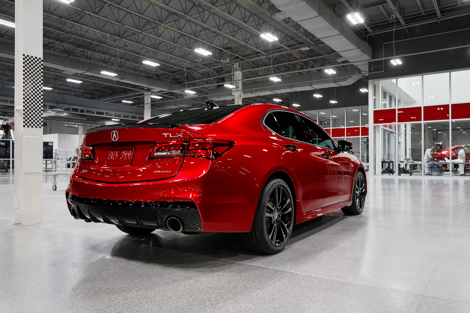 2020 Acura TLX PMC Edition 3/4 rear